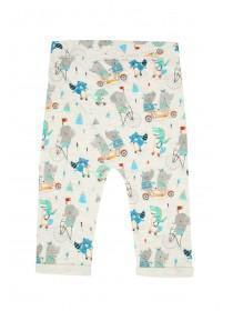 Baby Boys Grey Animal Joggers