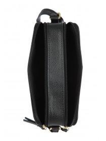 Womens Black Stud Shoulder Bag