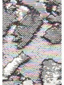 Multicolour Flip Sequin Cushion