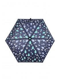 Womens Navy Colour Change Umbrella