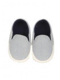 Baby Boys Blue Stripe Shoes