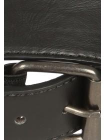 Mens Black Comfort Belt