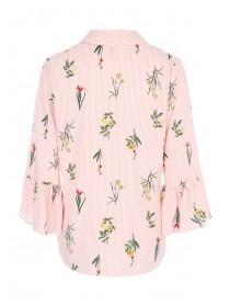 Womens Pink Floral Shirt
