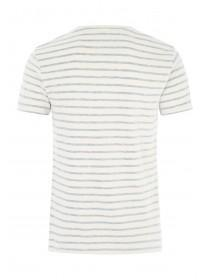 Mens Denim 365 Blue Stripe T-Shirt
