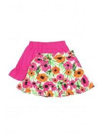 Younger Girls 2pk Frill Skirts
