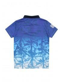 Older Boys Palm Tree Polo Shirt