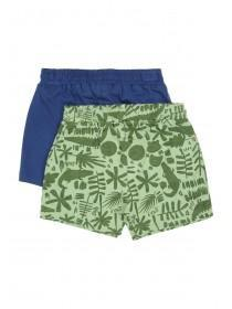 Baby Boys 2pk Jungle Shorts