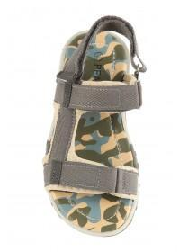 Younger Boys Khaki Camo Sandals