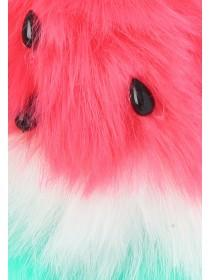 Womens Watermelon Pom Keyring