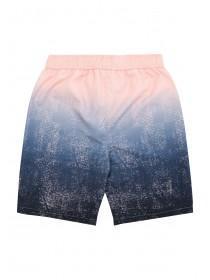 Older Boys Pink and Blue Dip Dye Board Shorts