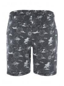 Mens Grey Nautical Sweat Shorts