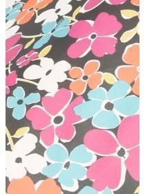 Womens Floral Umbrella