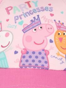 Younger Girls Pink Peppa Pig Baseball Hat