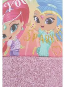 Younger Girls Pink Shimmer and Shine Cap