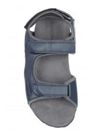 Mens Navy Strap Sandals