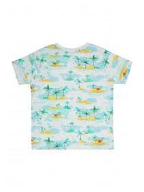 Baby Boys Grey Palm T-Shirt