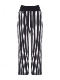 Maternity Monochrome Stripe Culottes