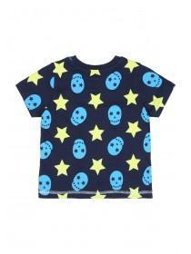 Younger Boys Navy Star Pyjama Set