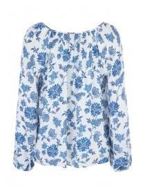 Womens Floral Gypsy Top