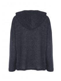 Womens Charcoal Lounge Hoody