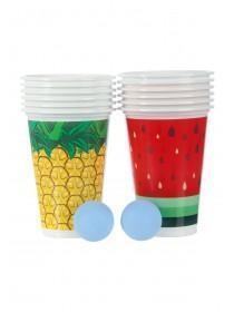 Womens Tropical Pong Party Game