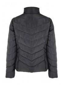 Womens Black Short Padded Coat