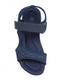 Womens Navy Sports Sandals