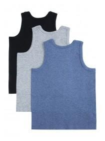 Boys 3pk Vests
