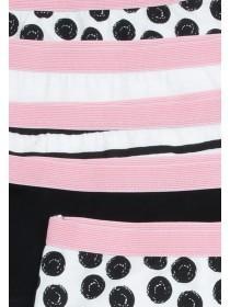Older Girls 5pk Spot Shorts