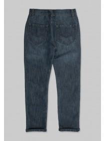 Older Boys Dark Wash Denim Jeans