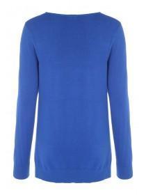 Womens Cobalt Blue Jumper