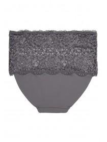 Womens Grey No VPL Briefs
