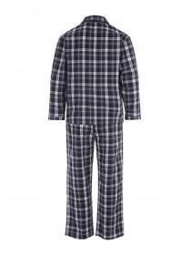 Mens Grey Check Pyjama Set