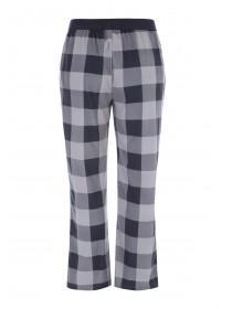 Mens Grey Check Pyjama Bottoms