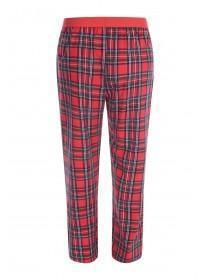 Mens Red Tartan Pyjama Bottoms