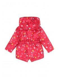 Baby Girls Pink Floral Cagoule Jacket