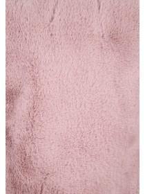 Older Girls Pale Pink Faux Fur Snood Scarf