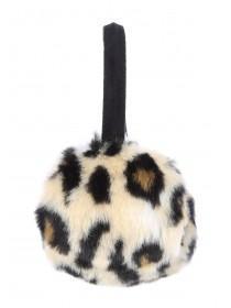 Older Girls Leopard Print Ear Muffs