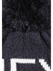 Younger Boys Slogan Bobble Hat