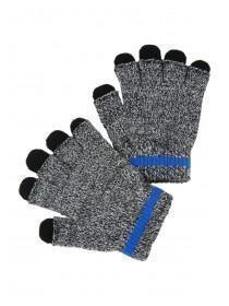 Older Boys Black 2pk Gloves