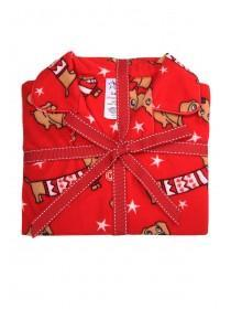 Girls Red Dog Pyjama Set