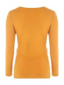 Maternity Mustard Long Sleeve Top