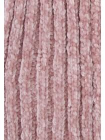 Womens Pale Pink Chenille Scarf