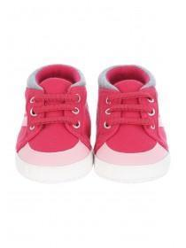 Baby Girls Pink High Top Trainers