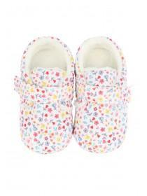 Baby Girls Pink Floral Shoes