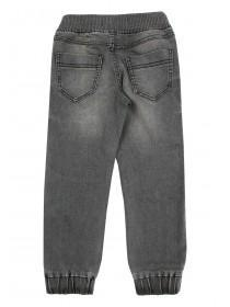 Younger Boys Grey Pull On Jeans