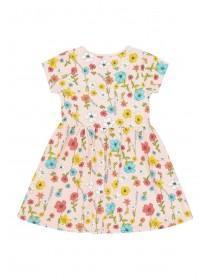 Younger Girls Pink Floral Dress