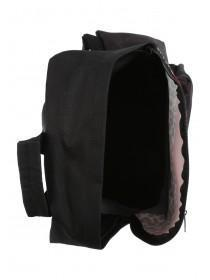 Older Girls Black Leopard Print Backpack