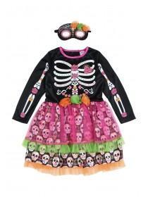 Kids Skeleton Fancy Dress Outfit