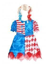 Kids Cheerleader Fancy Dress Outfit